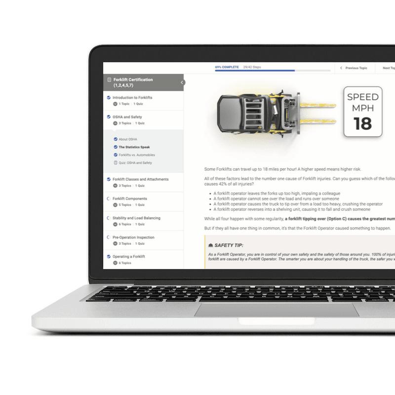 Desktop image of Liftoff Certification course
